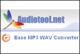 MP3 to WAV Converter - Ease MP3 WAV Converter is a software which directly converts audio files from MP3,OGG,WMA to WAV or from WAV to MP3 .