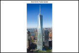 One World Trade Center - Freedom Tower is the lead building of the new World Trade Center complex in Lower Manhattan in New York City.